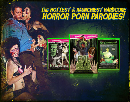 Join Now! The hottest & Raunchest hardcore horror porn parodies!