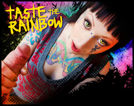 Join Now! Taste the rainbow