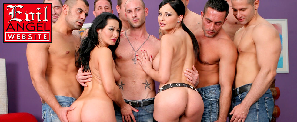 David Perry, Sandra Romain, Renato and Mike Angelo, from Hard Pleasure