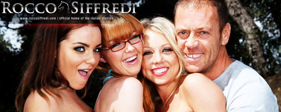 Rocco Siffredi, Natasha Nice, Marie McCray and Shawna Lenee from &quot;Bitch party #02: Teen Bitches&quot;