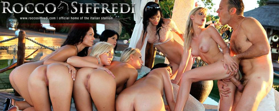 Rocco Siffredi, Candy Lover, Naomie and Tara Pink from &quot;Rocco&#039;s Dirty Teens&quot;