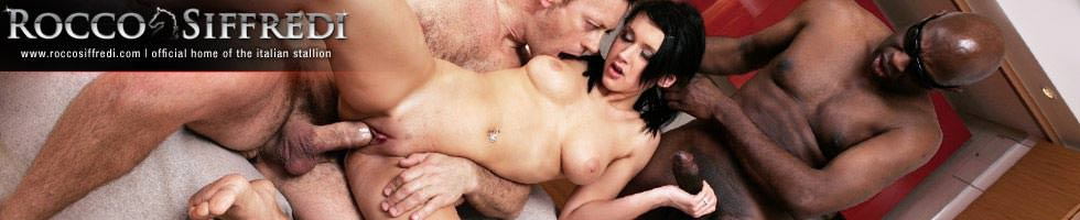 "Rocco Siffredi, Michael Chapman and Angelica Black from ""Rocco's Reality in Prague"""