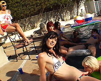 Eva Lin, Mandy Mitchell, Foxxy, Dustin Revees, Morgan Bailey, Cherry Torn, Tameka
